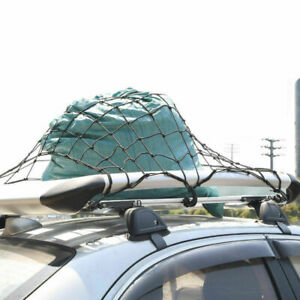 Cargo Cover Net Roof Web Bed Tie Down Hooks for CADDY BUICK CHEVY GMC PONTIAC