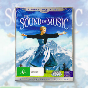 The Sound of Music 45th Anniversary Edition Blu-Ray & DVD Set | NEW