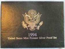 1994 United States Mint Premier Silver Proof Set w/Box & COA