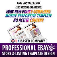 Marvellous eBay Store Shop Templates, eBay Listing Mobile Responsive Template