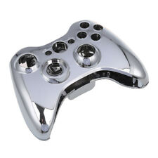 Silver Chrome Full Housing Case for Xbox 360 Wireless Controller BF