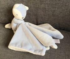 TU Baby Blanket Comforter Toy Soft Dou dou Fox Blue New Blankie 1st class post