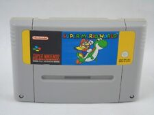 Super Mario World SNES Super Nintendo Cartridge PAL