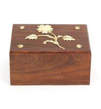 Hadley Wooden Urn 50CI Cremation Ashes Keepsake Urn UU110013D