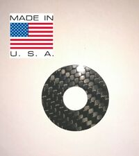 100% CARBON FIBER Toggle Switch Washer Ring for Gibson - Les Paul, SG, ES