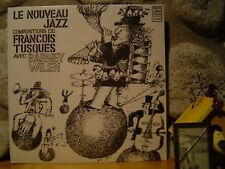 FRANCOIS TUSQUES WITH BARNEY WILEN Le Nouveau Jazz LP/1967 France/Rare Free Jazz