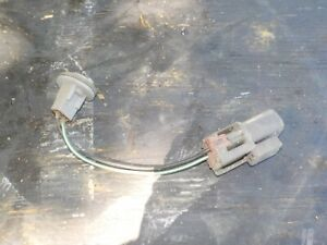 86-90 Nissan Sentra Rear Bumper: Side Red Marker Light Signal Bulb Holder Socket