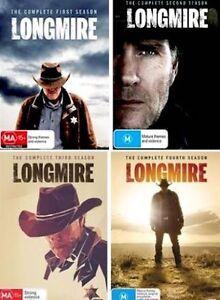LONGMIRE - Seasons 1 2 3 4 : NEW DVD
