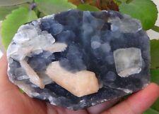 Apophyllite On Stilbite On Chalcedony Fossils Rock Minerals A=1