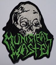 municipal waste shaped EMBROIDERED  PATCH
