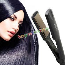 Flat Iron Professional Ceramic Tourmaline Plate Hair Straightener Styling Tool