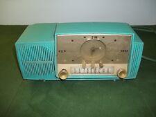 Vintage General Electric GE Model 914-O Clock Radio Blue Alarm