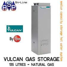 VULCAN 135L HOT WATER SYSTEM GAS STORAGE - NATURAL GAS - BY RHEEM