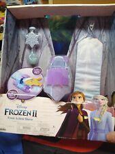 Frozen II 2 Elsa FROST ACTION SLEEVE Ice Power Glow in the Dark Necklace