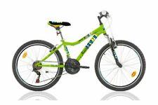24 Zoll Kinder Jungen Mädchen MTB Kinderfahrrad Mountainbike Fahrrad Rad Bike Gr