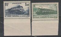 FRANCOBOLLI - 1937 FRANCIA FERROVIE C.30 + 1,50 FR. MNH E/1511