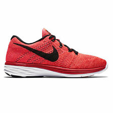 NIKE FLYKNIT LUNAR 3 Running Trainers Shoes Gym - UK 11.5 - (EUR 47) - RRP £125