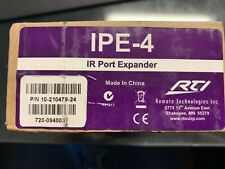 RTI IPE-4 IR Port Expander New in Open Box