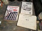 Lot Of MGA Classic Car Technical Manual Specification Handbooks Mechanics BMC