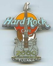 Hard Rock Cafe TIJUANA 2000 MILLENNIUM GUITAR PIN Evolution of Rock - HRC #9907