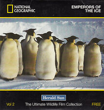 Penguin:Emperors of The Ice-National Geographic-Animal Penguin-DVD