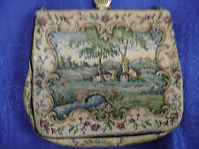VINTAGE TAPESTRY G.H.L PRINCESS STYLE MADE IN GERMANY, Bag Height 6, Bag Length