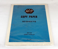 Vintage Silvine Copy Paper Foolscap 50 Sheets