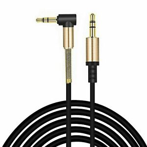 1M 2M 3M Audio Aux Cable 3.5mm Male Auxiliary Lead iPhone Galaxy MP3 Car PC