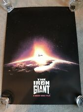 MONDOCON- By Jay Shaw- THE IRON GIANT-Mondo Poster!!!!!