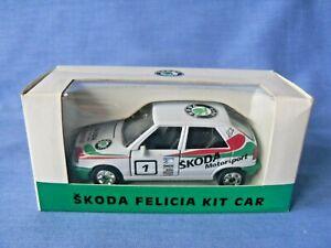 Skoda Felicia 1995 Rally Kit Car - 1:43 Scale - New in Box - Slovakian Made.