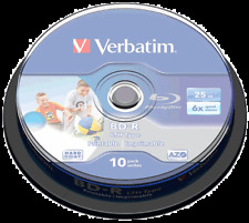 BD -R Verbatim Print 43804 Stampabili 25GB 6X BluRay Cakebox Printable Vuoti
