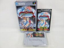 RETURN OF DOUBLE DRAGON Super Famicom Nintendo Japan Boxed sf