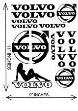VOLVO TRUCK X13 STICKERS VINYL STICKER DECAL GLOBETROTTER TRUCK HEAVY HAULAGE