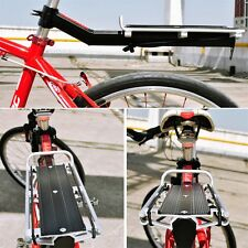 Mountain Bike Bicycle Quick Release Tail Stock Seat Post Pannier Rear Cargo Rack