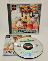Mickey's Wild Adventure Video Game for Sony PlayStation PS1 PAL TESTED