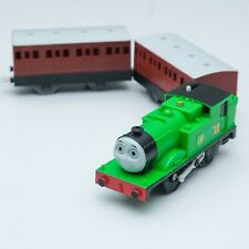 THOMAS & FRIENDS T-10:Oliver Motorizer Tomy with x2Brown Express Coach Passenger