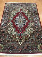 "5'6"" x 6'6"" New Traditional Turkish Oriental Rug - Fine - Hand Made - 100% Wool"