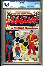 SHAZAM #1  CGC 9.4 WP NM  DC Comics 1973  1st Captain Marvel since Golden Age