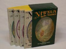 The Chronicles of Narnia SOLO GAMES 1988 C S Lewis Choose Your Own Adventure Set