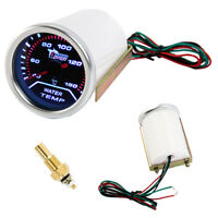 Thermomètre à jauge Celsius à température eau numérique de 2 po 52 mm, fumé G