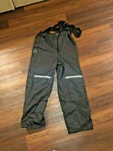 Viking Men Tri-zone Insulated Pants Never worn fishing pants overall Black Large