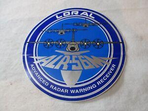 Advanced Radar Warning Receiver ALR-56M Sticker / C-130 F-15 F-16 USAF