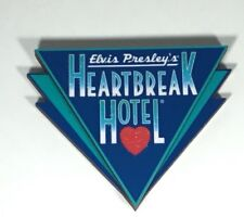 Elvis Heartbreak Hotel Wood Magnet - Memphis - Graceland - Last Of Inventory