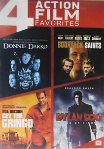 4 Movies DONNIE DARKO The BOONDOCK SAINTS GET the GRINGO DYLAN DOG DEAD of NIGHT