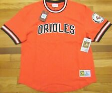 MITCHELL & NESS MLB COOPERSTOWN COLLECTION BALTIMORE ORIOLES WILD PITCH TOP L