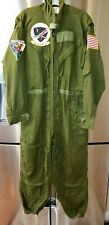Vietnam War Usn Usmc Pilot's Green Flight Suit Type Cs/Frp-1, New Old Stock, 40S