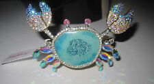 BETSEY JOHNSON CRABBY COUTURE CAT MERMAID WITH FISH DANGLE EARRINGS