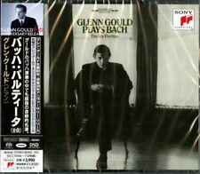 GLENN GOULD-BACH: PARTITAS (COMPLETE)-JAPAN 2 SACD Hybrid I98