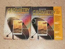 GEOMETRY An Integrated Approach Larson Text+Teacher Editio Heath Chalk Dust Math