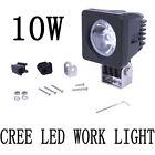 10W CREE LED WORK LIGHT BAR DRIVING OFFROAD ATV SUV FOG LIGHT FLOOD LAMP Square